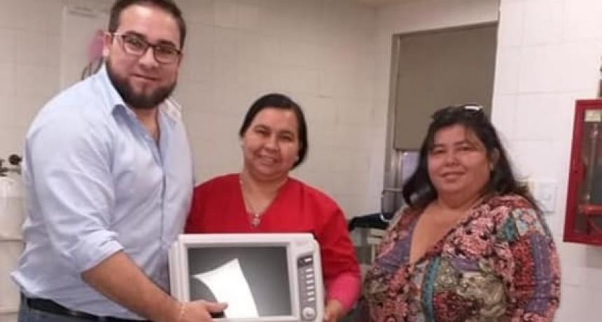 Nuevo equipamiento para el Hospital Justo José de Urquiza de Federal.