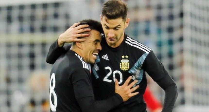 Argentina-Alemania: la selección rescató un empate en Dortmund después de ir perdiendo 2-0