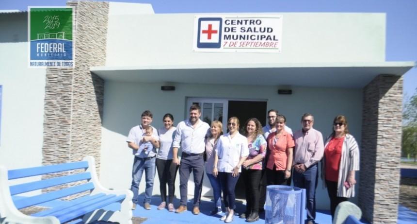 Reinauguracion del Centro de Salud