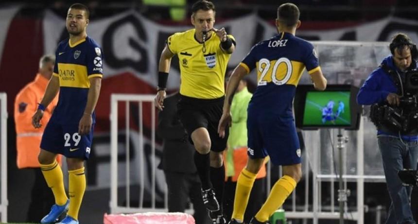 Copa Libertadores: La principal novedad que tendrá el VAR en el Superclásico