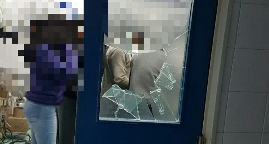 Se iniciaron actuaciones a joven por delitos de daño en el Hospital Urquiza
