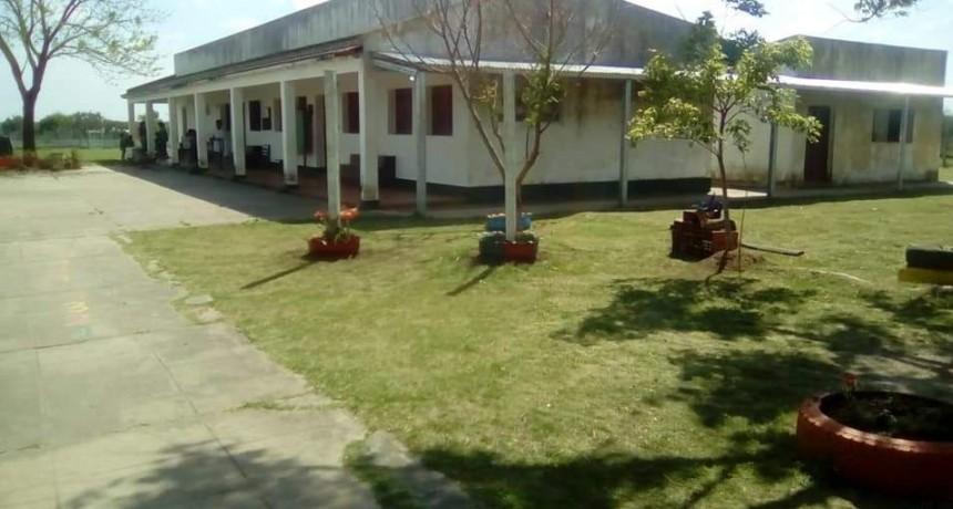 Principio de incendio en la Escuela N 8