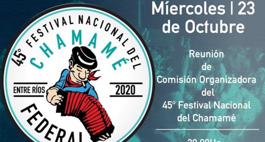 Reunión de la Comisión Organizadora del Festival