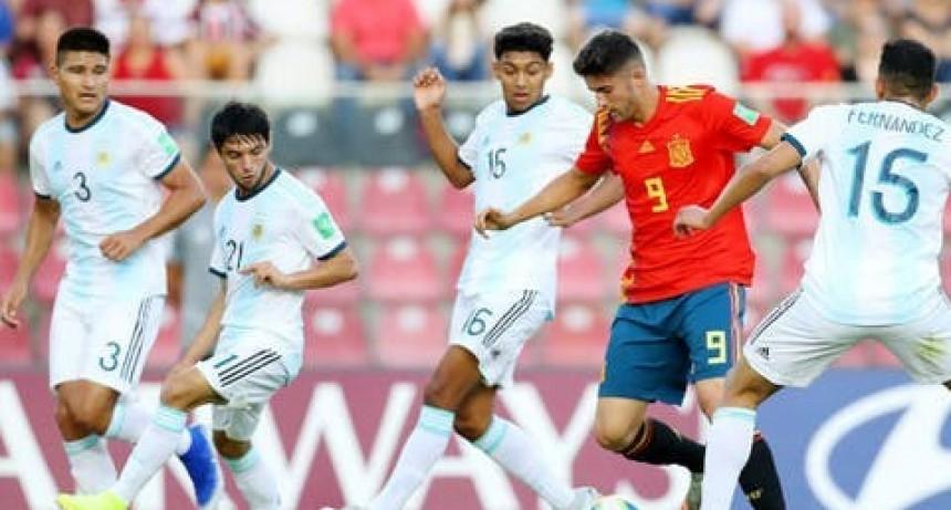 Mundial Sub 17: Argentina empató sin goles con España en el debut en Brasil