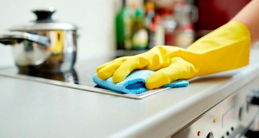 Empleados de casas particulares: Entra en vigencia el último tramo del aumento