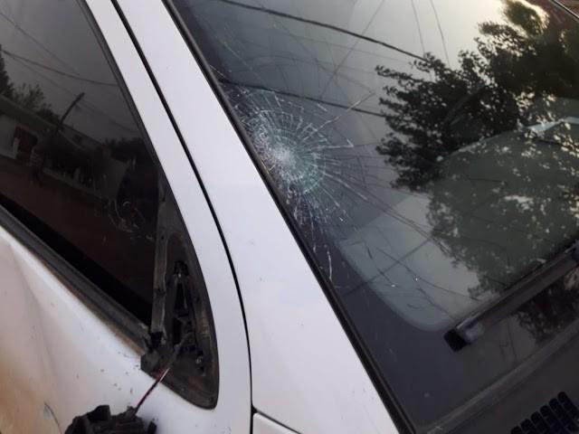 Accidente de tránsito en intersección de calles Buenos Aires y Mitre