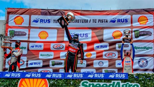 Valentín Aguirre se quedó con la final del TC en Buenos Aires: Werner fue tercero