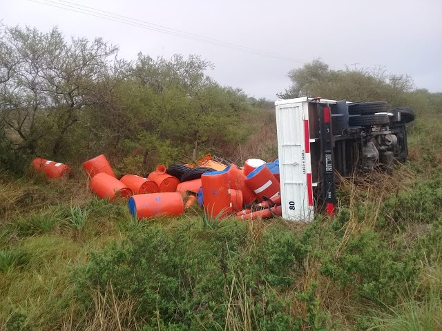 Accidente de transito en Ruta Provincial N° 22