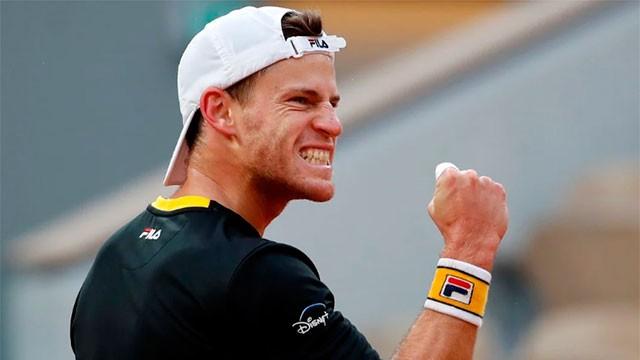 Histórico triunfo de Diego Schwartzman para meterse en Semifinales de Roland Garros