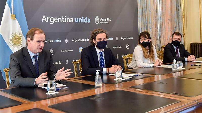 El Gobernador Bordet acordó con Cafiero extender la fibra óptica en Entre Ríos