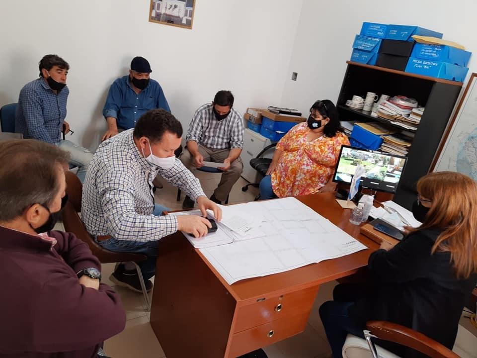 Con fondos de Cafesg comenzaran obras en C. Bernardi