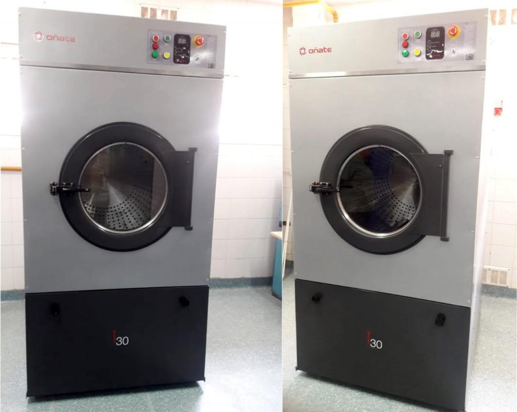 El servicio de lavadero del hospital Urquiza de Federal incorporó una moderna secadora