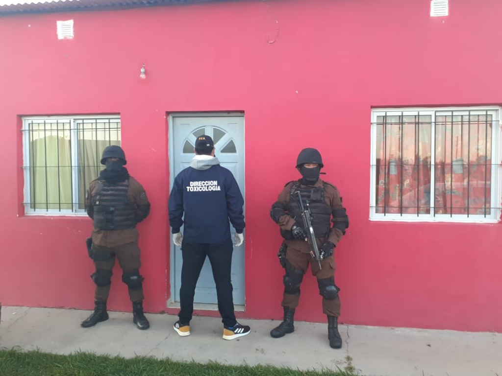 División Toxicología de la Jefatura Dptal. Federal participó en procedimientos realizados en la ciudad de Gualeguay