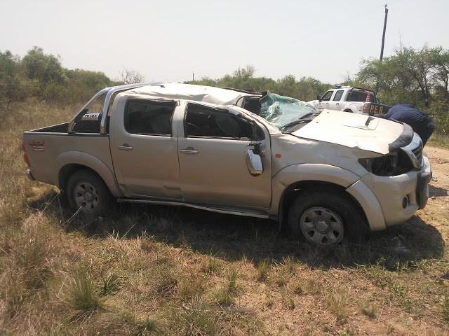 Accidente de tránsito en horas de la mañana sobre Ruta Provincial N°20 a 35 Km de la ciudad de Federal