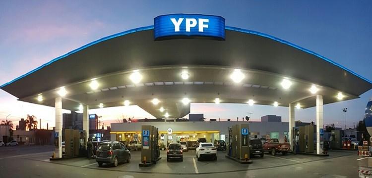 YPF aumentó un 3,5% promedio los precios de sus combustibles