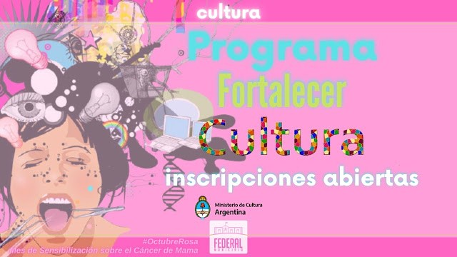 """Abiertas las inscripciones para el programa nacional """"Fortalecer Cultura"""""""