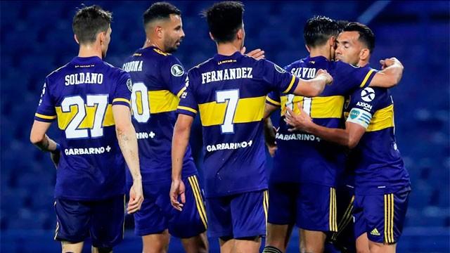 Libertadores: Con dos goles de Tevez, Boca venció a Caracas en el cierre de la fase de grupos
