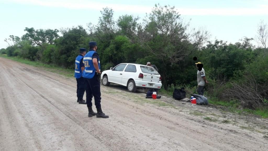 Secuestran  carabina   Norinco calibre sin documentación
