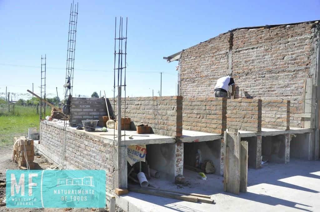 CONTINÚA LA CONSTRUCCIÓN DE NUEVOS NICHOS EN EL CEMENTERIO MUNICIPAL
