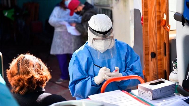 Argentina reportó 350 muertos y 13.379 nuevos contagios de covid-19