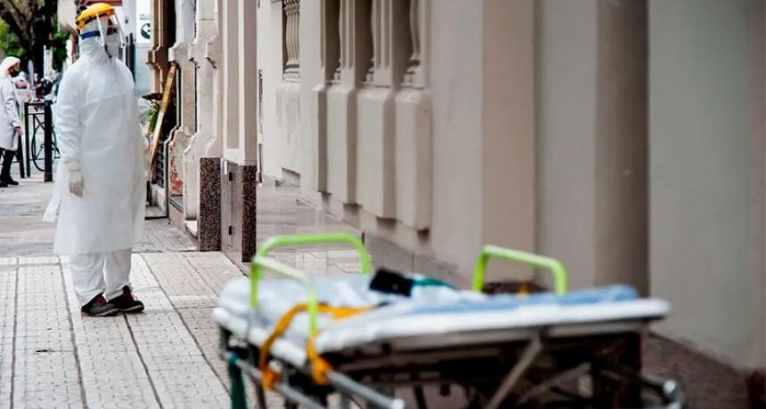 Confirmaron 386 muertes y 13.305 nuevos contagios en Argentina