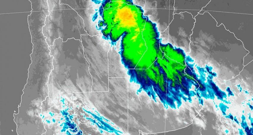 Hay alerta por tormentas fuertes para 10 provincias, incluida Entre Ríos
