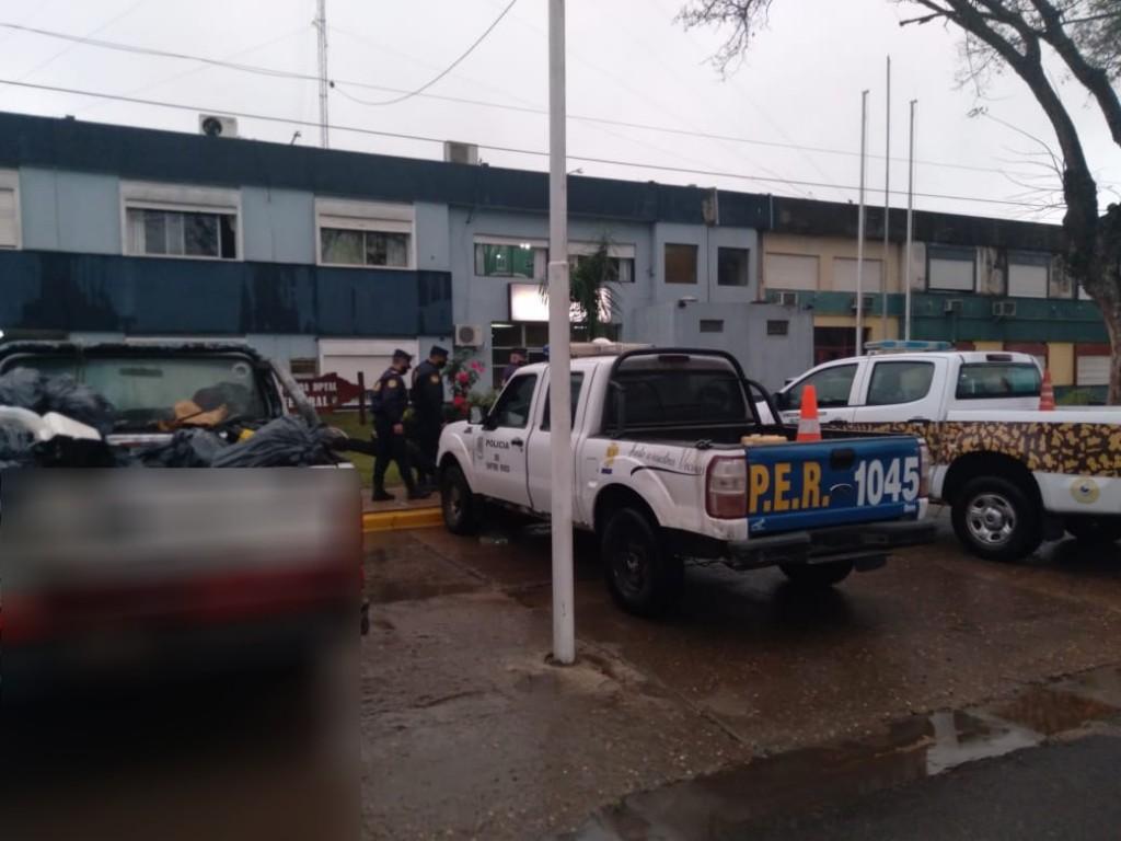 Intervención de la Brigada de Prevención Delitos Rurales de Federal.