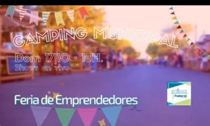 Feria de emprendedores este domingo en el Camping Municipal