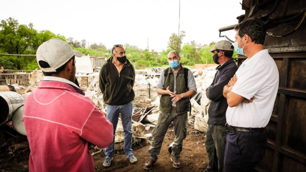 CAFESG elabora programas de seguridad e higiene a recicladores