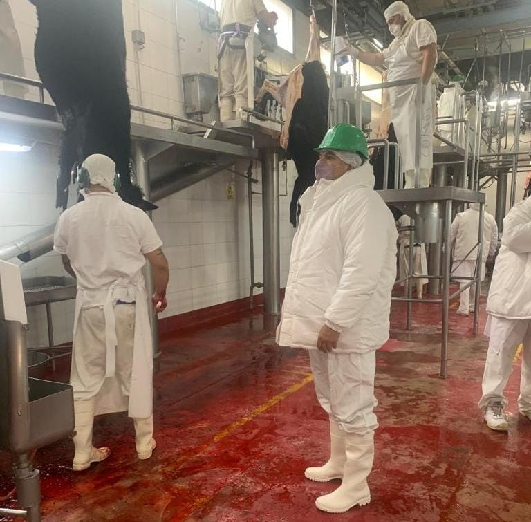 Se verifica en frigoríficos aplicación de la norma que amplia exportación de carne a China