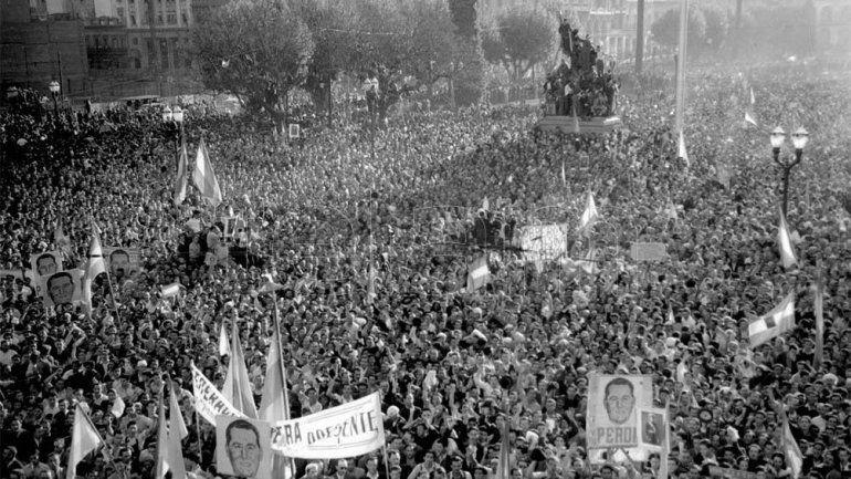 A 76 años del día que el pueblo colmó la Plaza de Mayo y cambió la historia argentina