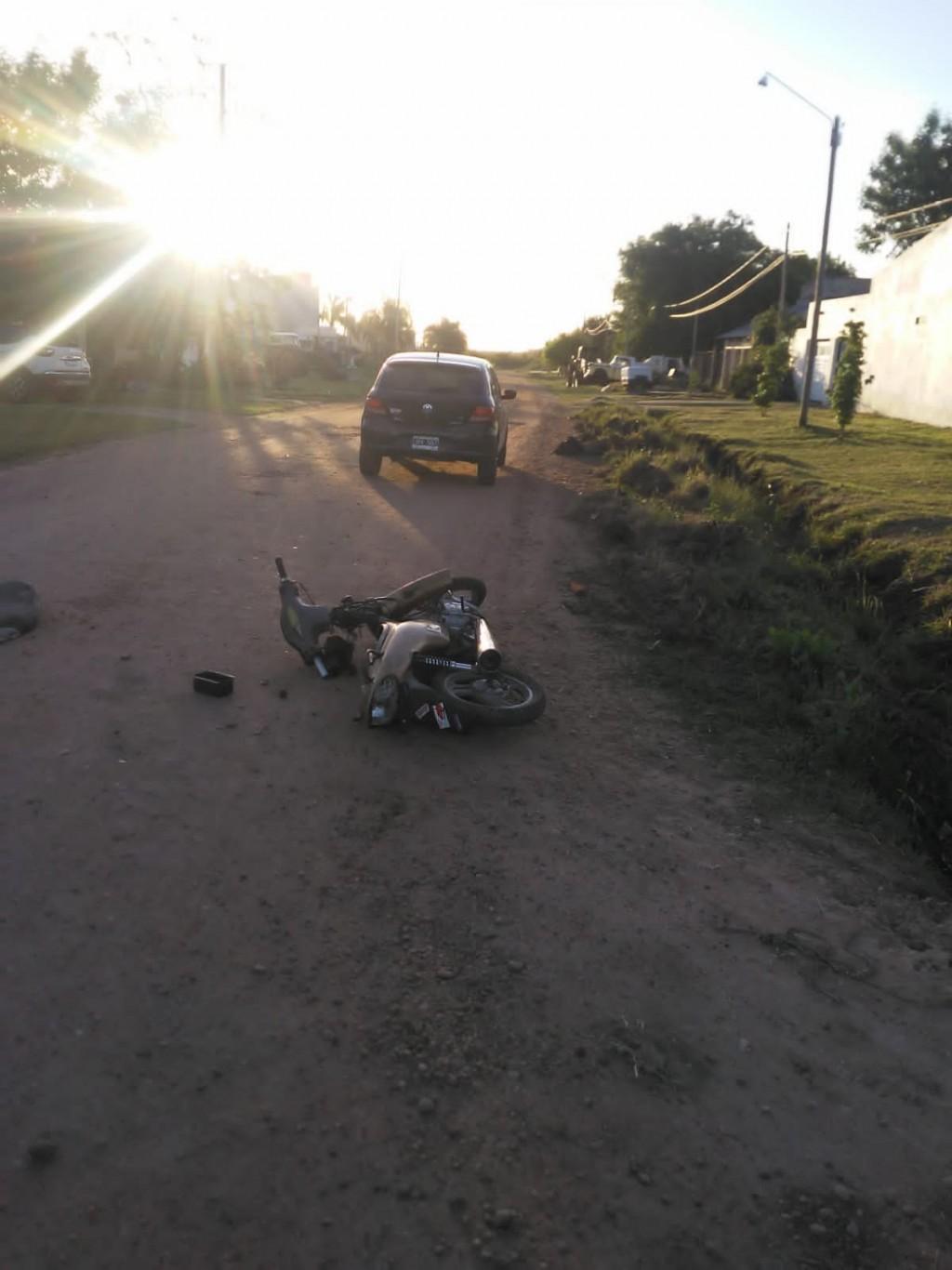 Accidente de transito con lesionado