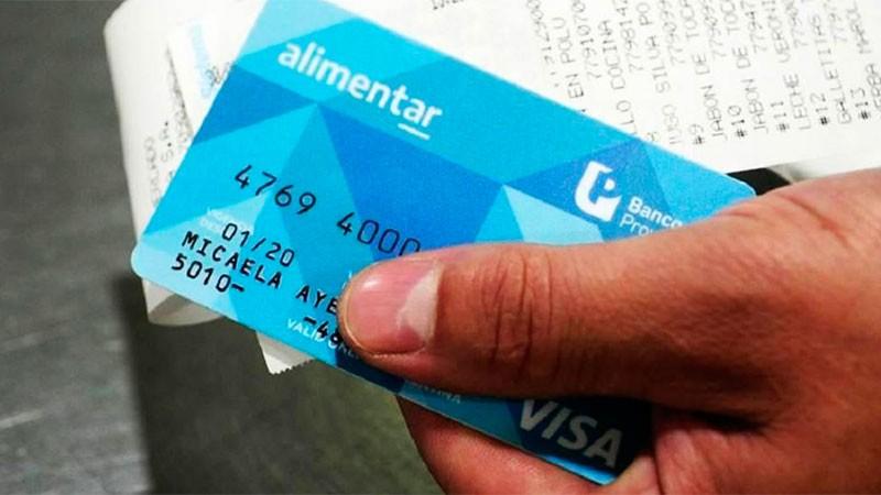 El monto de la tarjeta Alimentar se depositará en la cuenta de la AUH