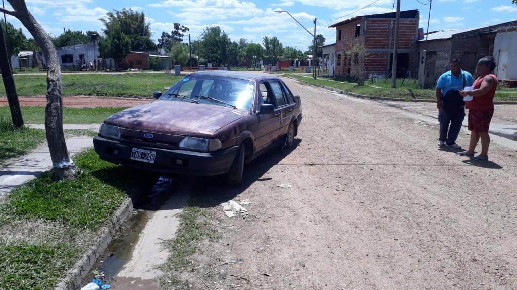 Accidente de transito en calles Tucumán y Rocamora