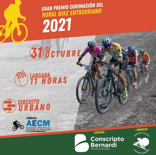Gran premio coronación   del rural bike entrerriano en Conscripto Bernardi