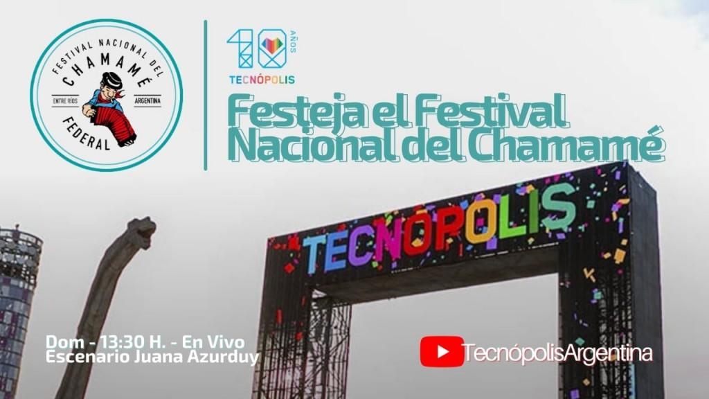 El festival del Chamamé de Federal en Tecnopolis