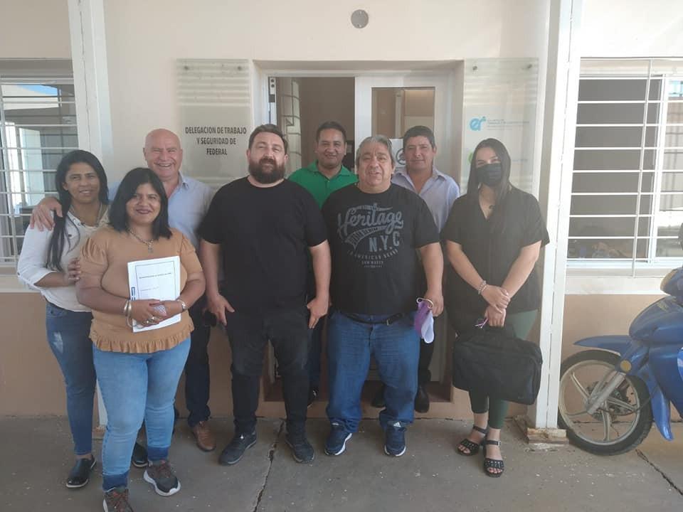 Ate Seccional Federal cerró acuerdo paritario con el Municipio de Sauce de Luna