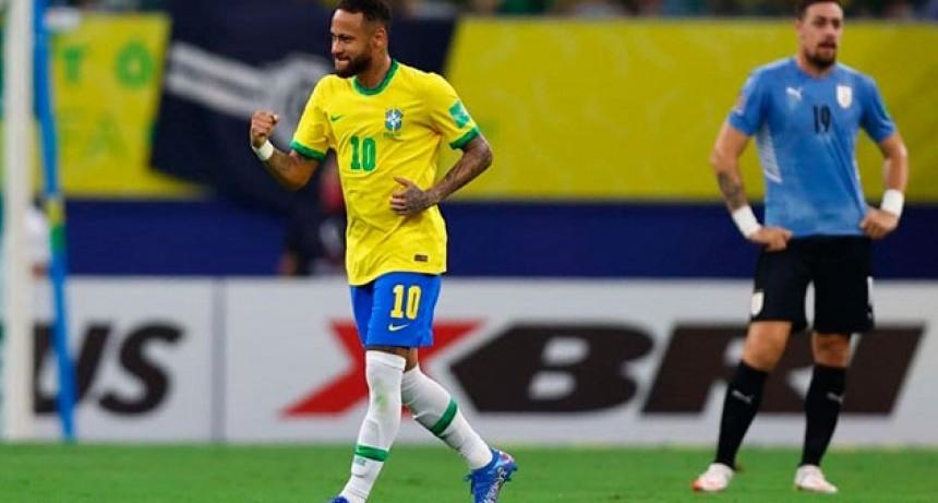 Eliminatorias: Brasil le dio un duro golpe a Uruguay y sigue invicto