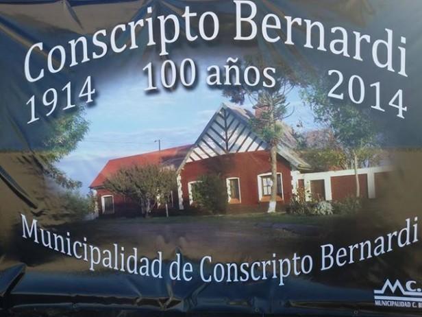 Conscripto Bernardi inicia los festejos de sus primeros 100 años