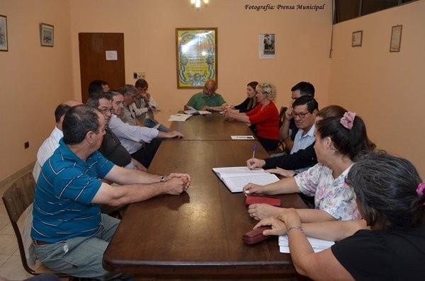 Reunión de la Comisión Central del Festival del Chamamé