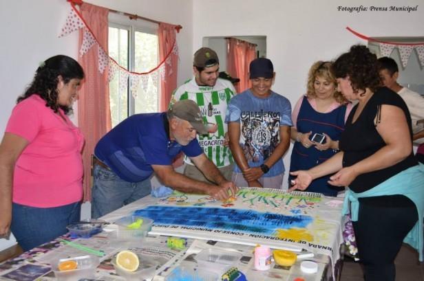 Jornadas de Integración entre alumnos del Taller Protegido y Escuela Nº 13