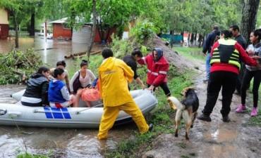 Los evacuados por el temporal superan las 6.300 personas