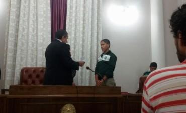 Los senadores juveniles de Federal prestaron juramento en Paraná