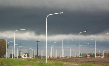 Está vigente un alerta meteorológico para Entre Ríos