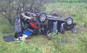 Otro accidente en la ruta Nº 22, a metros del ocurrido el día lunes