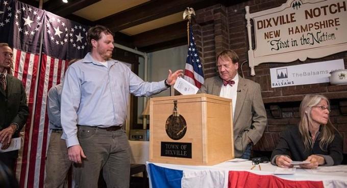 EEUU ya elige presidente: abrieron los primeros centros de votación