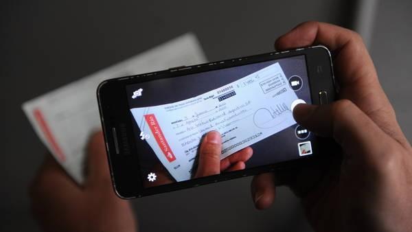 Ya se pueden depositar cheques por vía electrónica