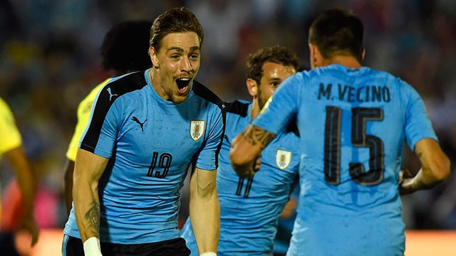 Uruguay le ganó a Ecuador y dio un paso clave a la clasificación