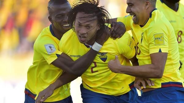 Ecuador goleó a Venezuela y se fue para arriba en la tabla