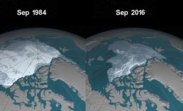 La NASA publica un video en el que se ven los estragos del cambio climático